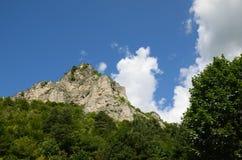 Die Spitze des Berges Lizenzfreie Stockbilder