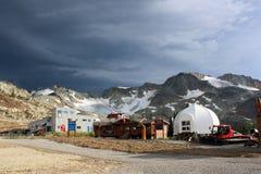 Die Spitze des Pfeifer-Berges stockfotografie