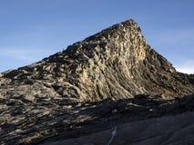 Die Spitze des Tiefs, Höhepunkt auf dem Kinabalu in Sabah, Malaysia Stockbild