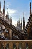 Die Spitze von Duomo Lizenzfreies Stockfoto