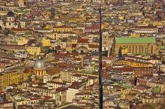 Die splitted Stadt, Neapel, Italien Stockbild