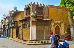 Die Ställe von Khan el-Khalili-souq Lizenzfreie Stockfotografie