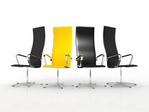 Die Stühle stockfoto