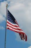 Die Staaten- von Amerikamarkierungsfahne Stockfoto
