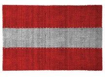 Die Staatsflagge des Landes von Österreich Lizenzfreies Stockfoto