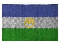 Die Staatsflagge des Landes von Bashkortostan Lizenzfreie Stockfotografie
