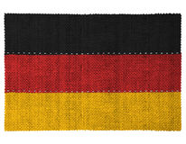 Die Staatsflagge des Landes von Deutschland Stockfotos