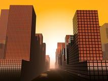 Die Stadt 20 Lizenzfreies Stockfoto