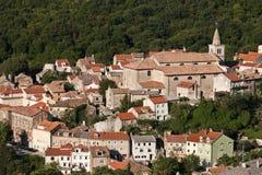 Die Stadt Bakar Stockfoto
