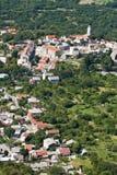Die Stadt Bribir stockfoto