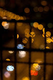 Die Stadt des Lichtes von über 1 gesehen Stockbild