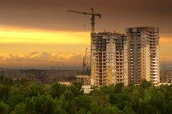 Die Stadt greifen an Stockfoto