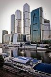 Die Stadt, Moskau Lizenzfreies Stockfoto