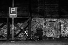 Die Stadt nachts Lizenzfreie Stockfotografie