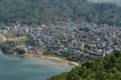 Die Stadt Pokhara Lizenzfreie Stockfotografie