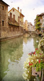 Die Stadt von Annecy, Frankreich stockfoto