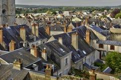 Die Stadt von Blois in der Loire und in Cher Lizenzfreie Stockbilder
