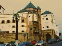 Die Stadt von Casablanca Stockbild