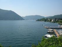 Die Stadt von Como Italien Stockfotos