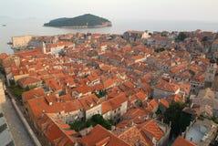 Die Stadt von Dubrovnik, Kroatien Stockfotos