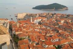 Die Stadt von Dubrovnik, Kroatien Lizenzfreies Stockbild