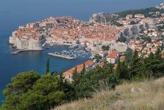 Die Stadt von Dubrovnik, Kroatien Lizenzfreies Stockfoto
