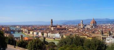Die Stadt von Florenz in Toskana, Italien Lizenzfreie Stockfotografie