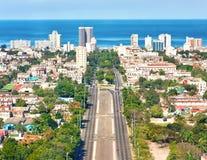 Die Stadt von Havana an einem schönen Sommertag Lizenzfreie Stockfotografie