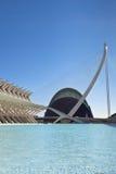 Die Stadt von Künsten, das ozeanographisch und von Wissenschaften, Valencia Stockbilder