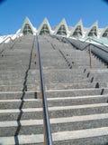 Die Stadt von Künsten und von Wissenschaften, Valencia Spain Stockfotografie