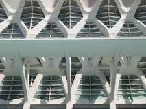 Die Stadt von Künsten und von Wissenschaften, Valencia Spain Stockbild