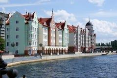Die Stadt von Kaliningrad stockfoto