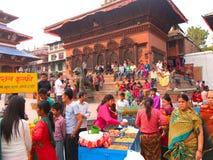 Die Stadt von Kathmandu, Nepal Stockfotos