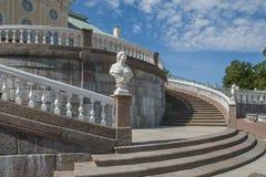 - die Stadt von Lomonosov, Menshikov-Palast Stockbild
