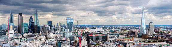 Die Stadt von London Stockbild