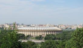 Die Stadt von Moskau Stockfoto