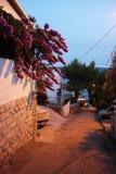 Die Stadt von Omis, Kroatien Stockfotos