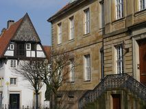 Die Stadt von osnabrueck in Deutschland lizenzfreies stockbild