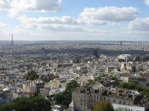 Die Stadt von Paris stockbilder