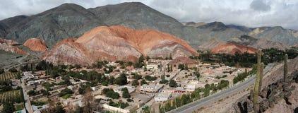 Die Stadt von Purmamarca Lizenzfreie Stockbilder