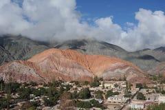Die Stadt von Purmamarca Stockbilder