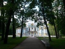 Die Stadt von Pushkin Lizenzfreie Stockfotos