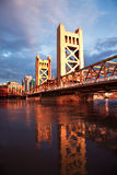 Die Stadt von Sacramento Kalifornien Lizenzfreie Stockfotos