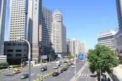 Die Stadt von Shanghai lizenzfreie stockfotos