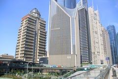 Die Stadt von Shanghai stockbilder