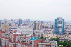 Die Stadt von Sibirien Nowosibirsk Lizenzfreies Stockbild