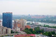 Die Stadt von Sibirien Nowosibirsk Stockbilder