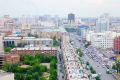 Die Stadt von Sibirien Nowosibirsk Stockfotos