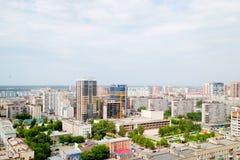Die Stadt von Sibirien Nowosibirsk Lizenzfreie Stockfotos
