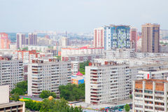 Die Stadt von Sibirien Nowosibirsk Lizenzfreies Stockfoto